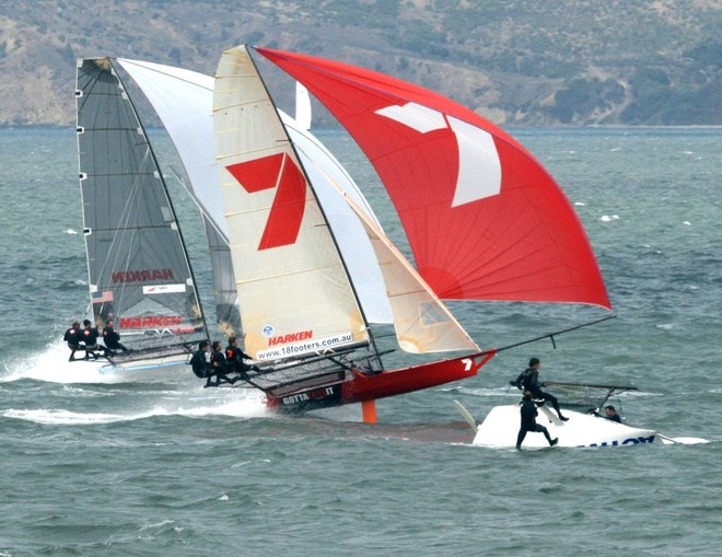 18s on the downwind charge