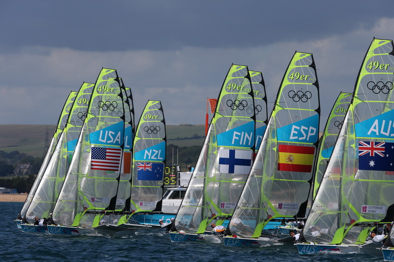 Francois Richard: some competitors are muttering about the Aussie 49er hull