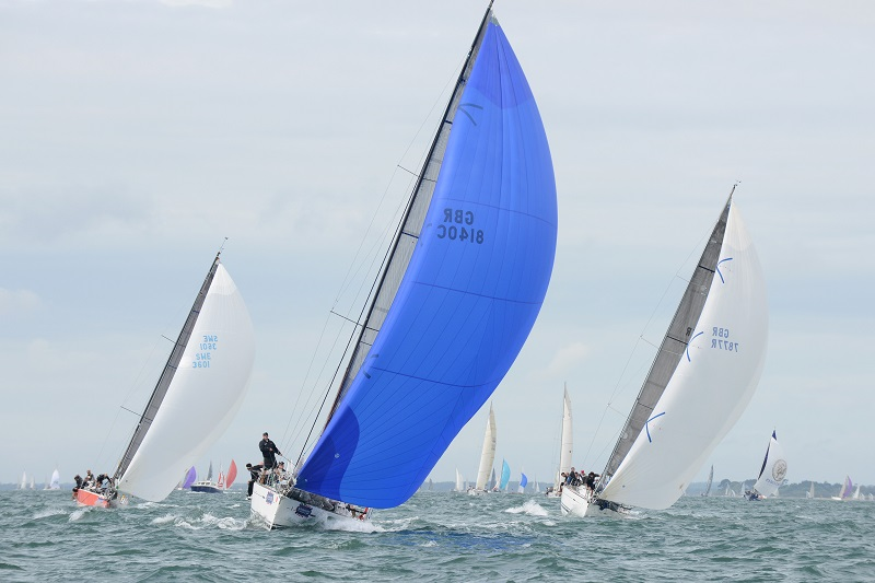Managing the Local Wind Effects while Racing at Aberdeen Asset Management Cowes Week