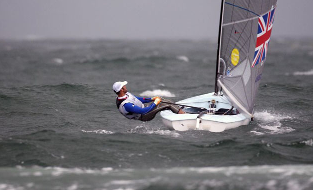 Ben Ainslie in perfect trim for his Gold Medal in Qingdao