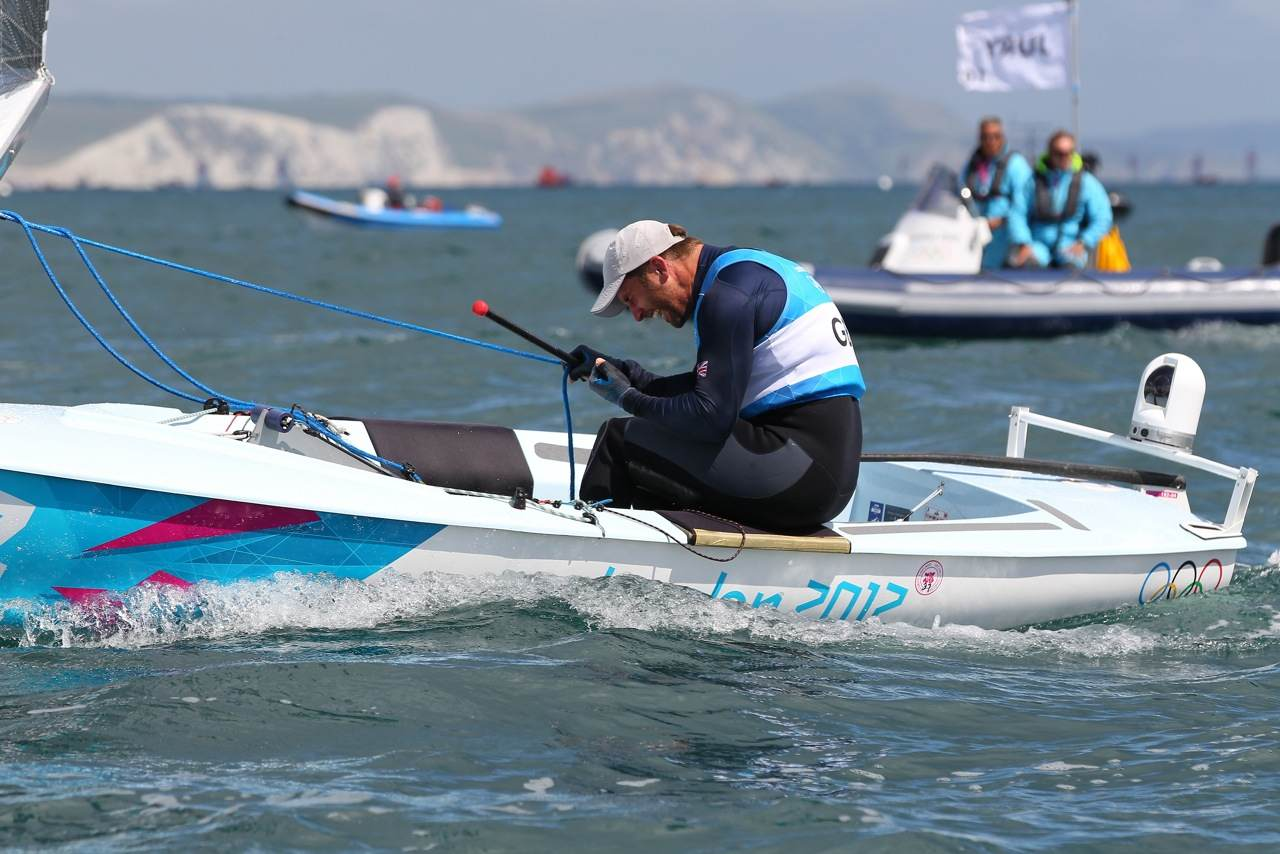 Interview with Ben Ainslie - Olympics Day 2