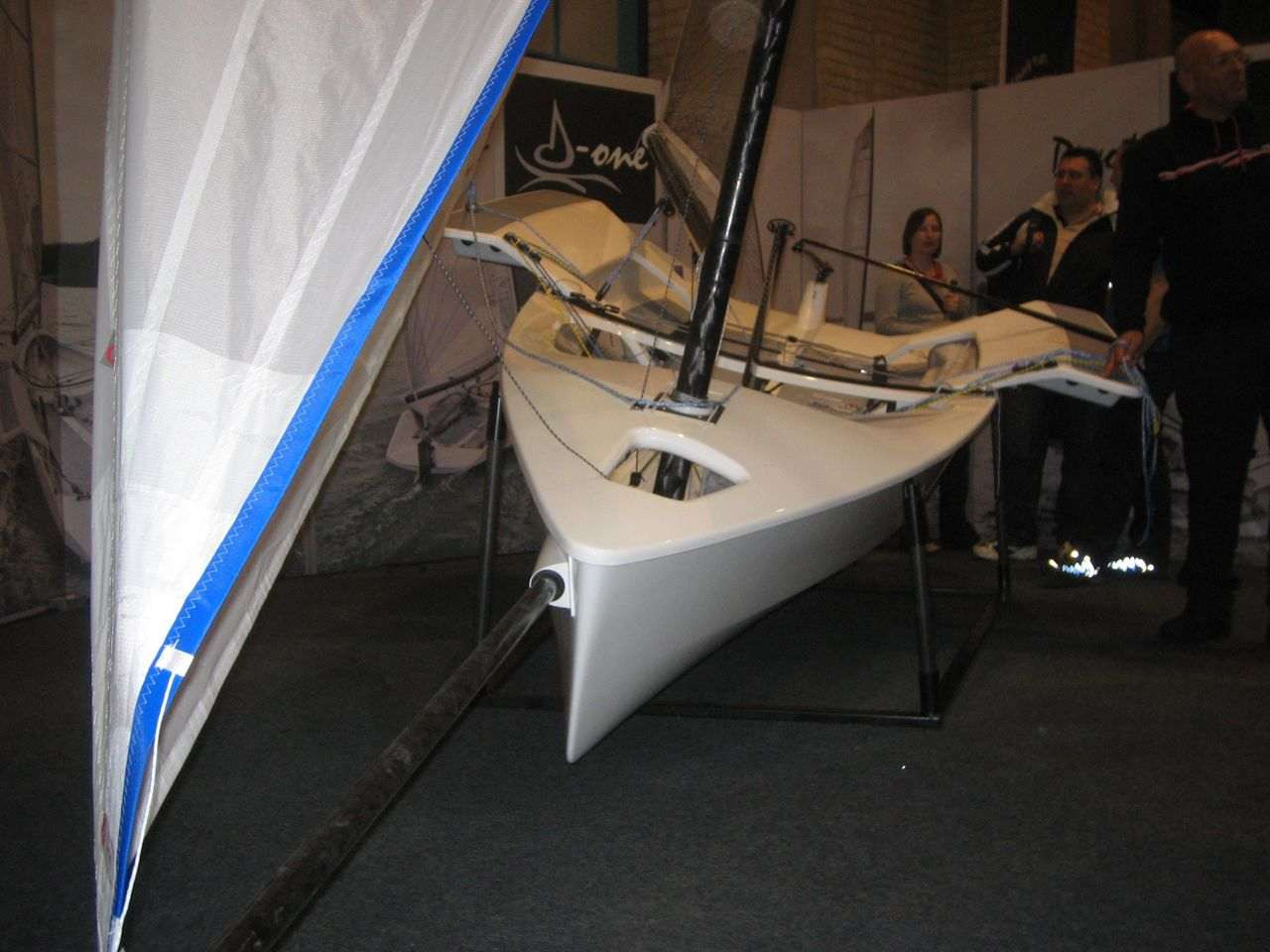 Devoti D-1 at the Dinghy Show in London