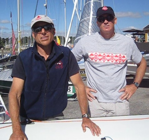 Howie Hamlin & Andy Zinn at the 505 Worlds