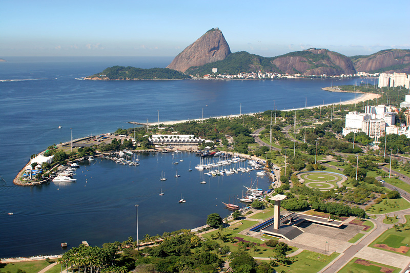 Marina da Gloria - venue for the Olympic Regatta in Rio 2016