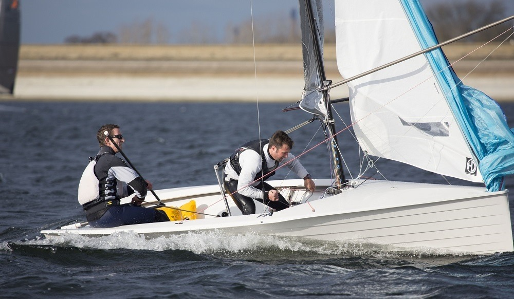 Nick Craig wins the GJW Direct SailJuice Winter Series