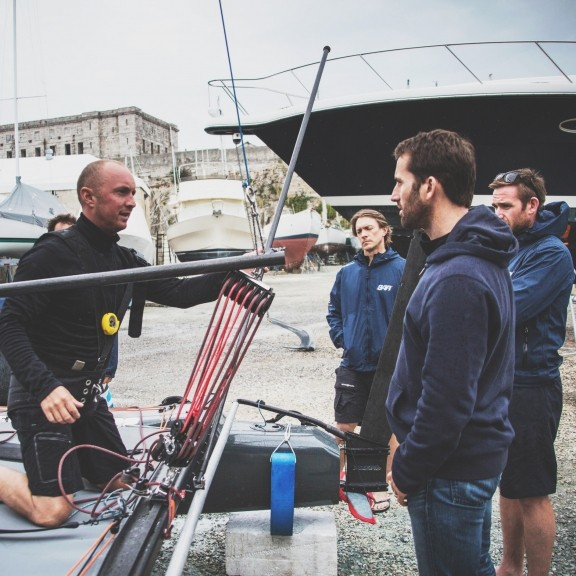 Rob Wilson talks to Ben Ainslie