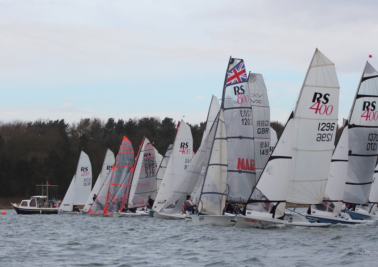 Eight events in the GJW Direct SailJuice Winter Series 2014/15 Paul Williamson