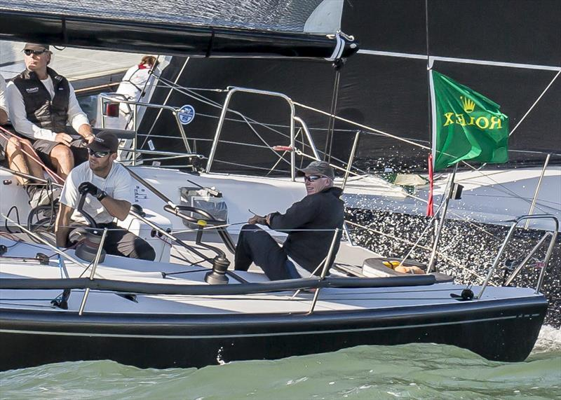 Terry Hutchinson calling tactics on Plenty, Rolex Farr 40 World Champion 2014