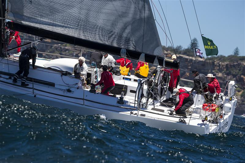 Victoire at the Hobart start