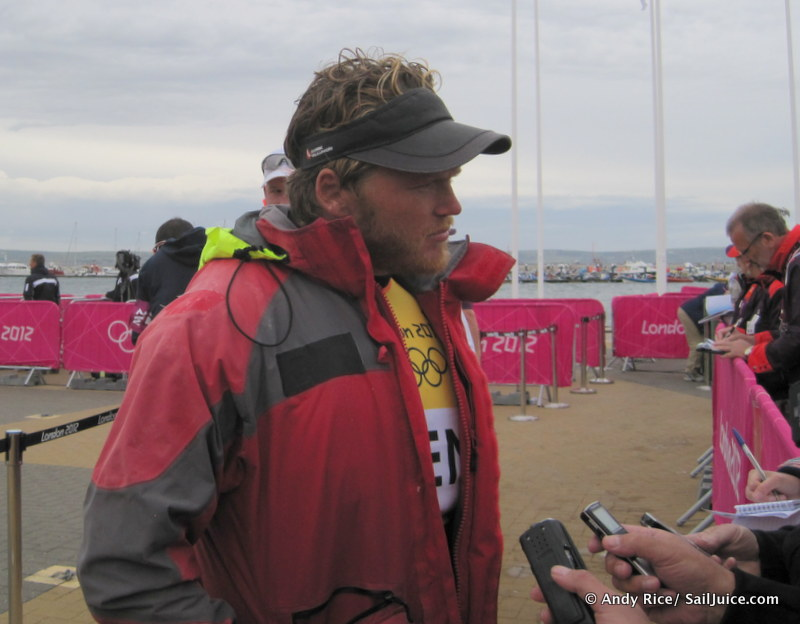 Interview with Jonas Hoegh Christensen - Olympic Regatta Day 2