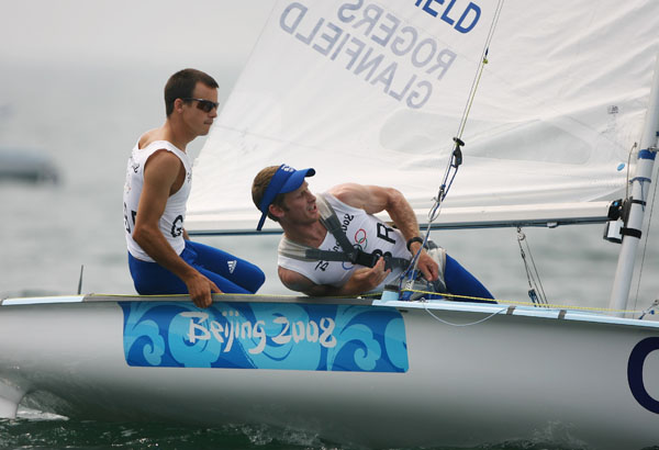 Nick Rogers & Joe Glanfield built up an understanding based on a decade of sailing together