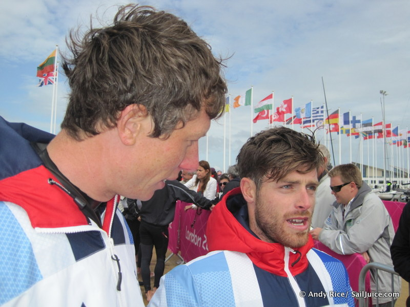 Stu Bithell and Luke Patience: a 1,2 on their Olympic debut